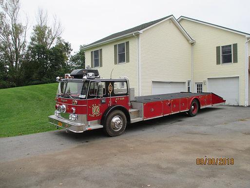 1972 Seagrave Fire Truck Hauler