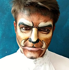Face and Body Art for Custom Events and Shows