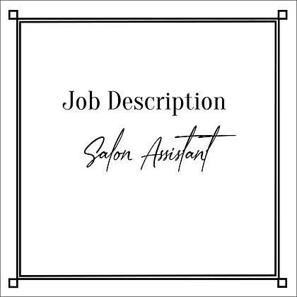JD_Salon Assistant