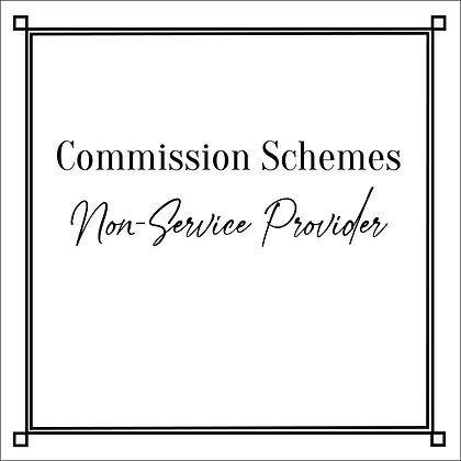 Commission Schemes_Non-Service Provider