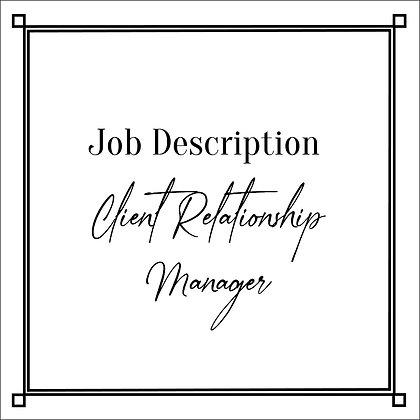 JD_Client Relationship Manager