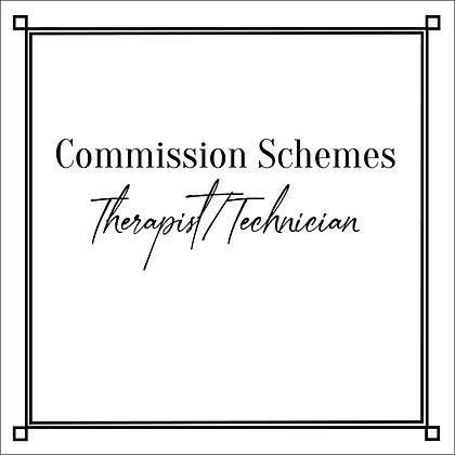 Commission Schemes_Therapists_Technicians