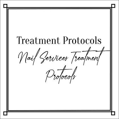 Nail Services Treatment Protocols