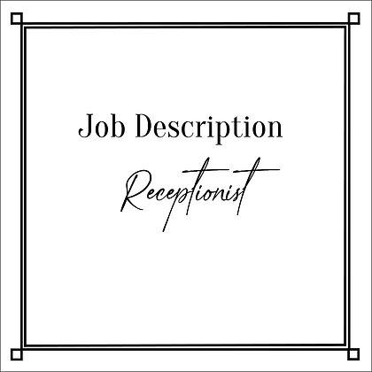 JD_Receptionist