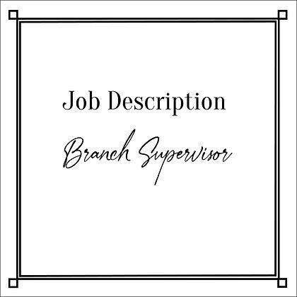JD_Branch Supervisor