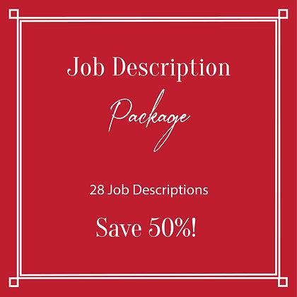 Job Description Package