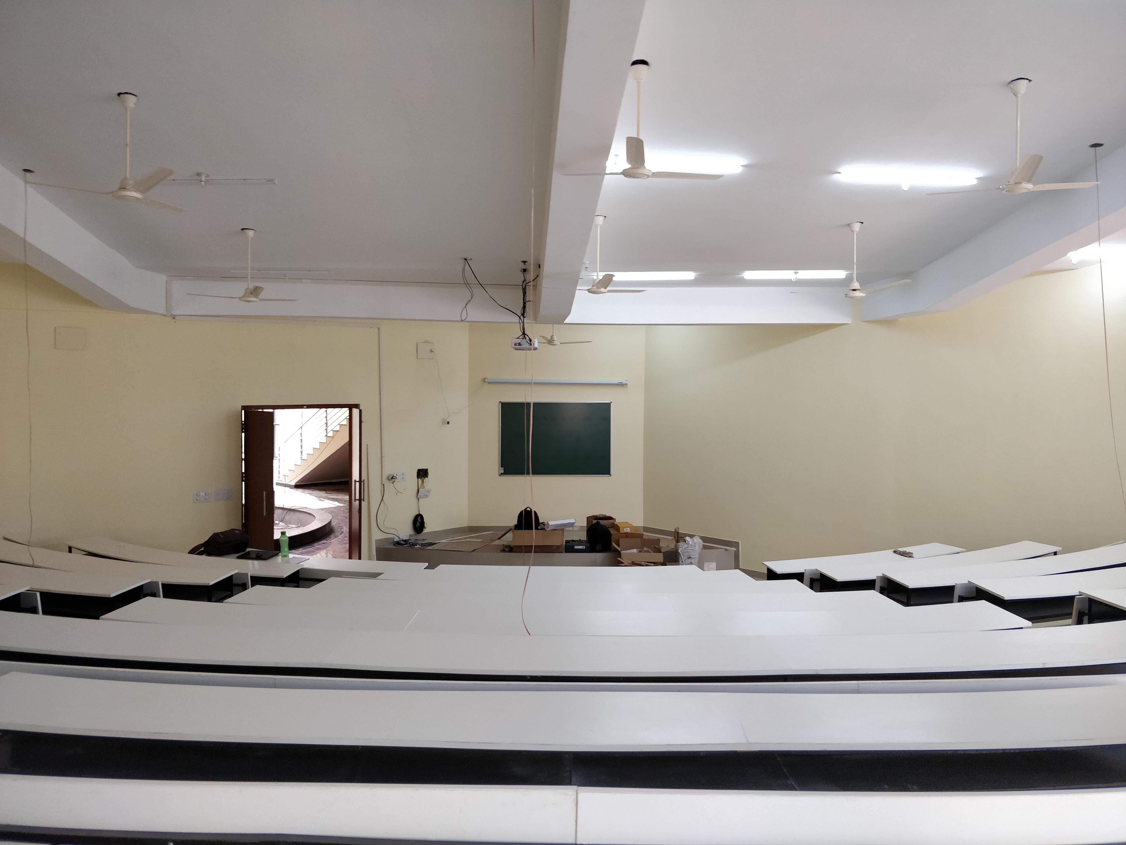 Auditorium Style Classroom
