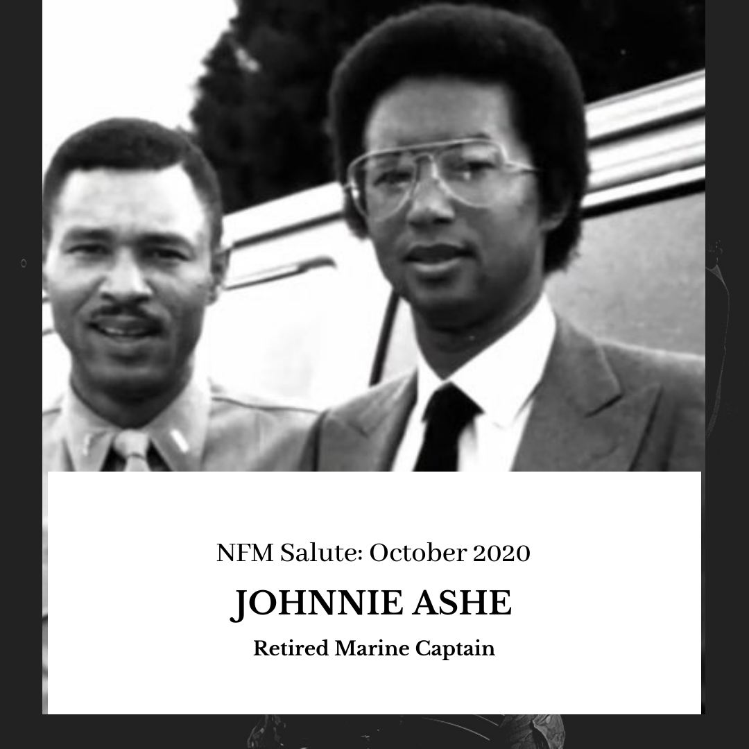 NFM Salute (October 2020): Johnnie Ashe