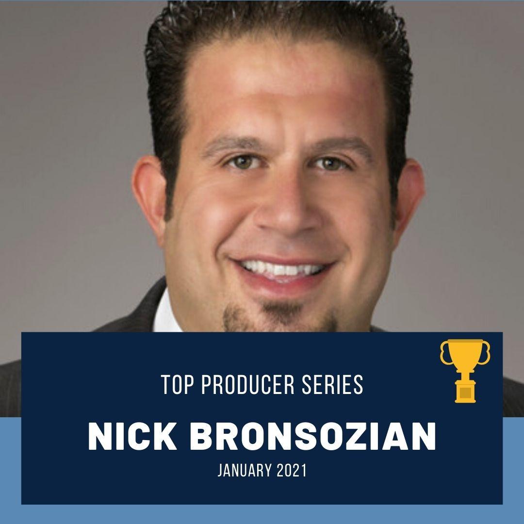 Top Producer: Nick Bronsozian
