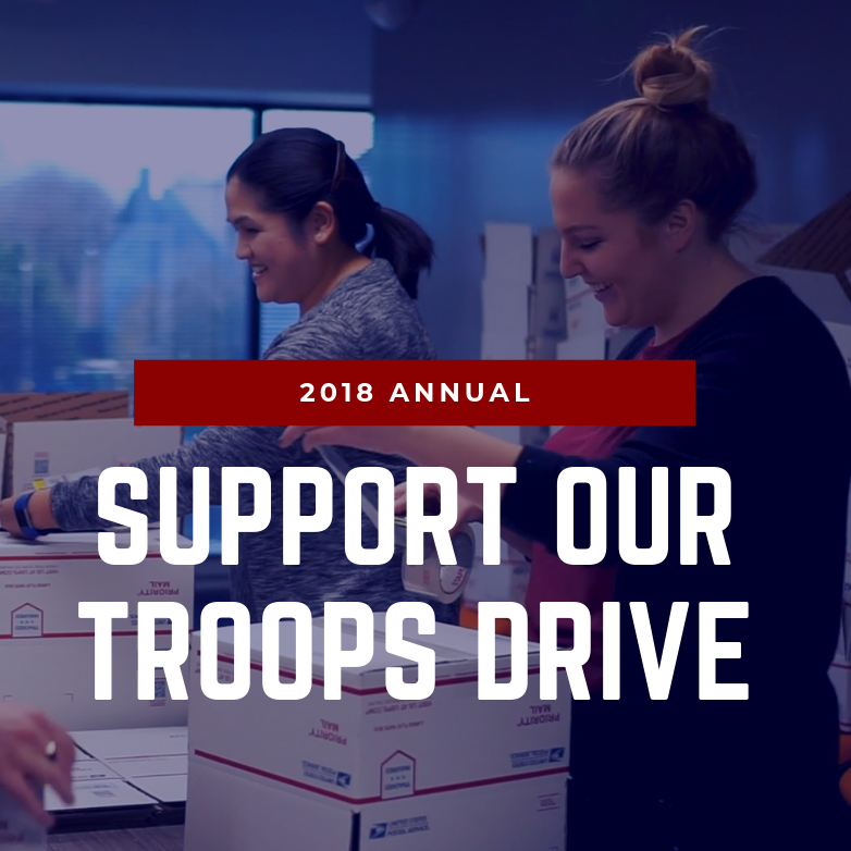 2018 Support Our Troops Drive
