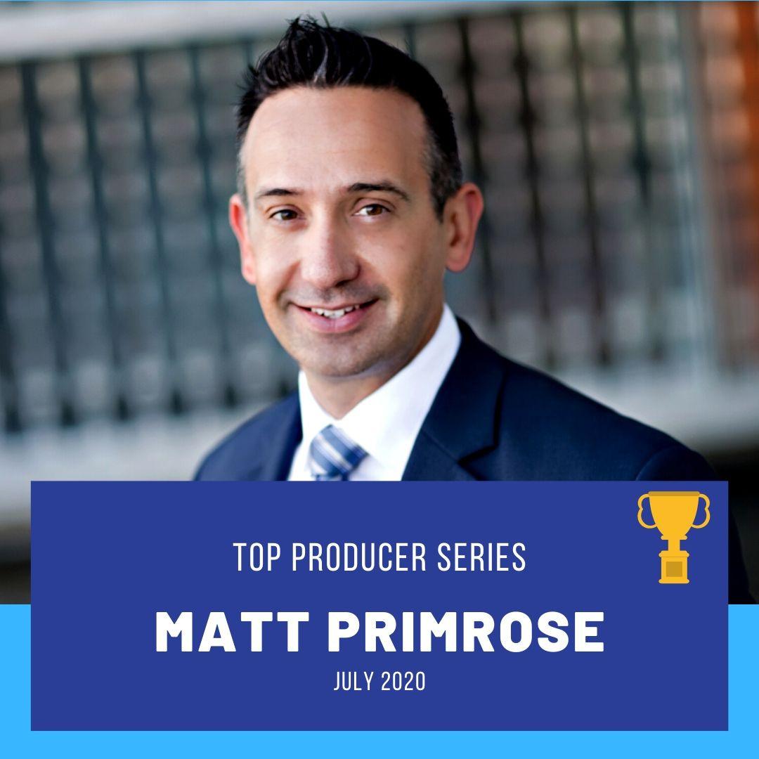 Top Producer: Matt Primrose
