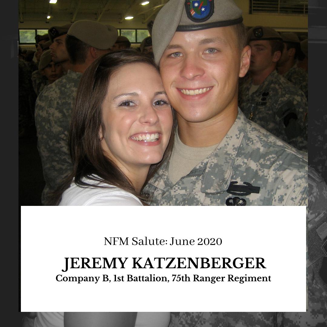 NFM Salute: Jeremy Katzenberger