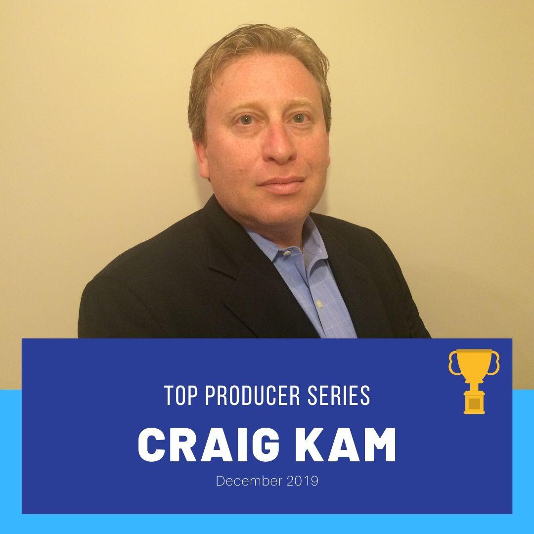 Top Producer Series (December 2019): Craig Kam