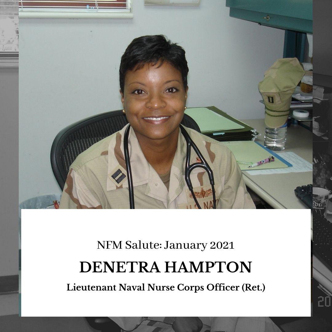 NFM Salute (January 2021): Denetra Hampton