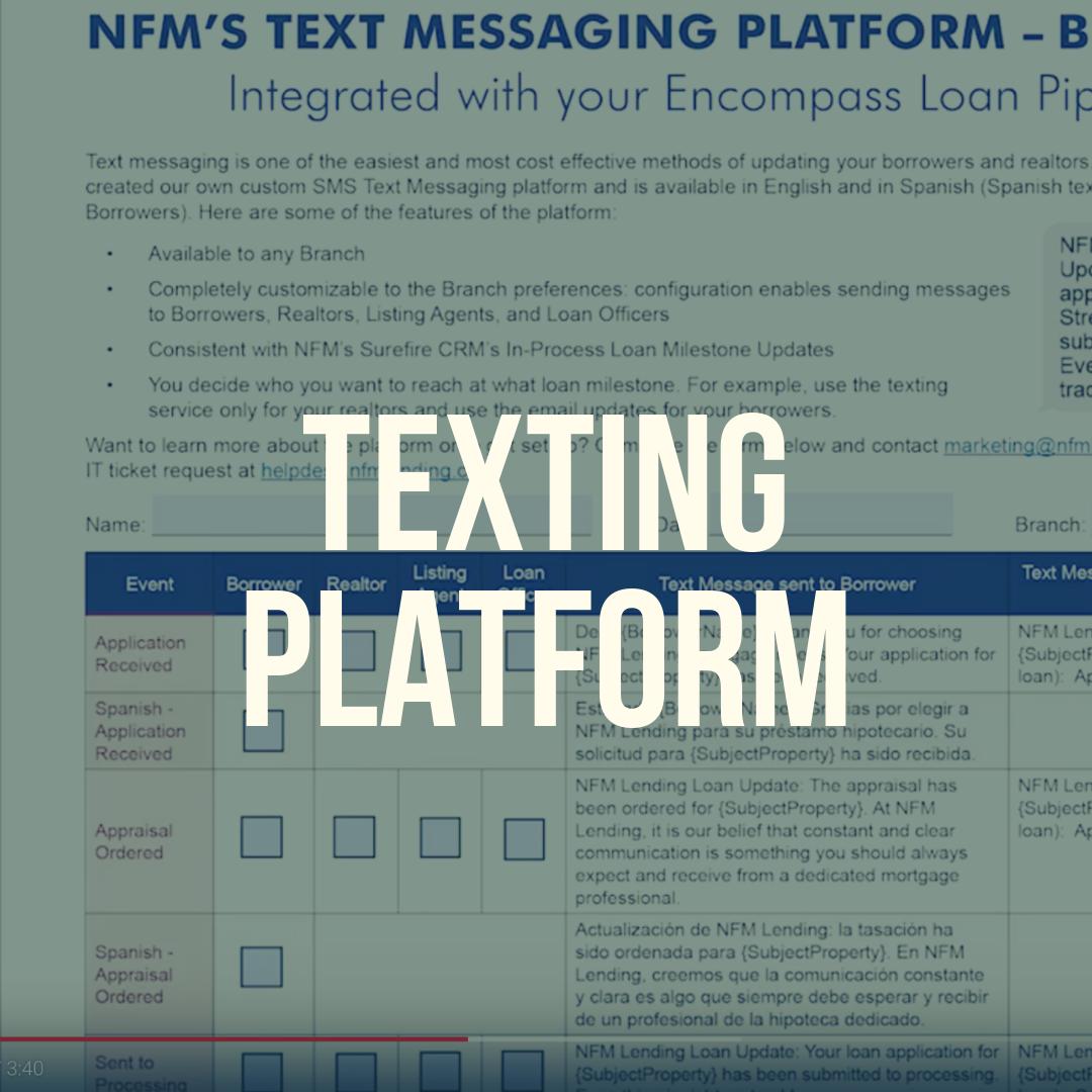 Tech Central - A Special Edition of NFM TV with Christos Bettios, CIO - Texting Platform