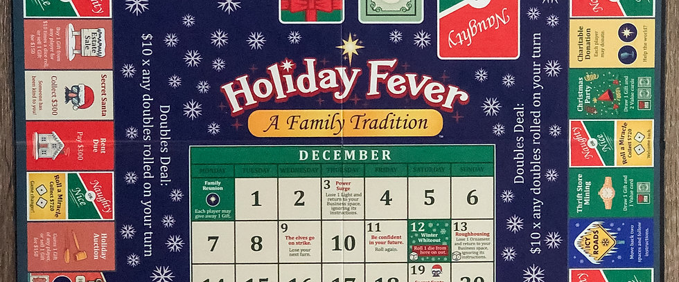 Holiday Fever - A Family Tradition Board Game