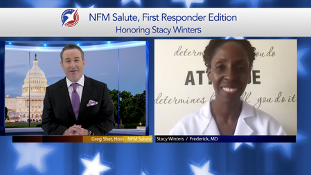 NFM Salute: First Responders, Stacy Winters
