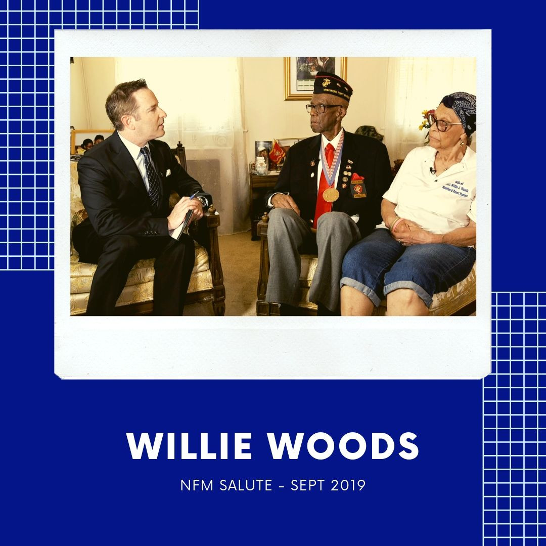 NFM Salute of Sept 2019: PFC Willie Woods