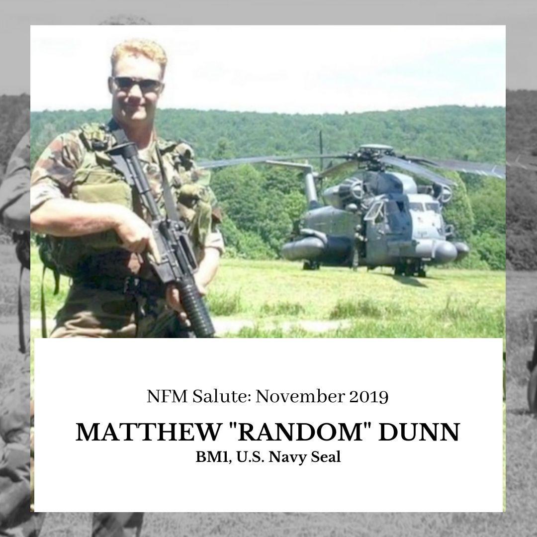 """NFM Salute: Matthew """"Random"""" Dunn"""