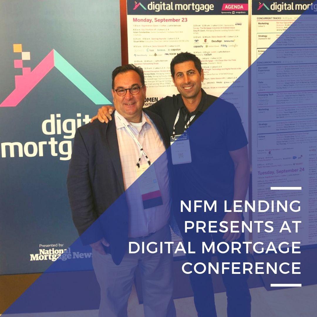 NFM Lending presents at Digital Mortgage Conference
