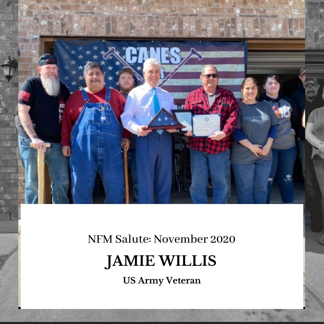 NFM Salute (November 2020): Jamie Willis