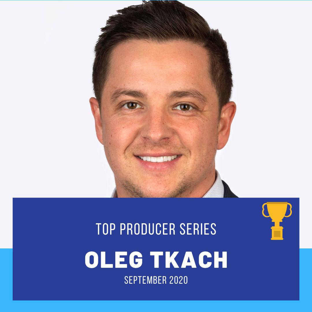 Top Producer: Oleg Tkach