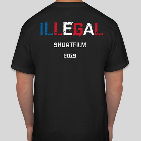 Red, White & Blue ILLEGAL T-shirt