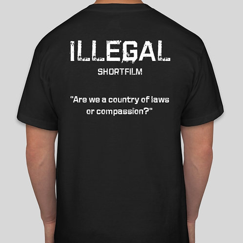 ILLEGAL w/ quote T-shirt
