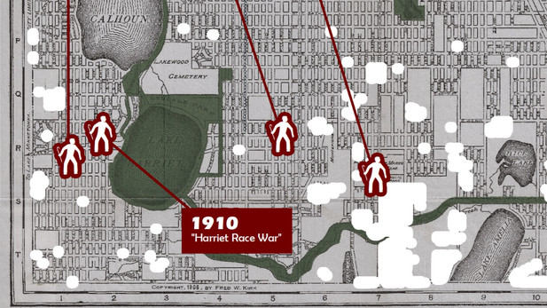 Cartography: Minneapolis Unrest