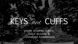 Writing: Keys Not Cuffs