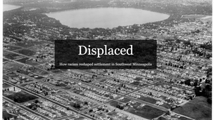Deep Mapping: Displaced