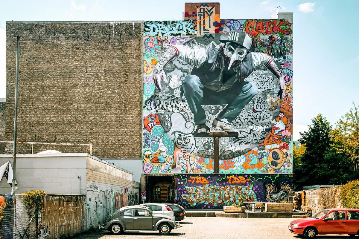Стрит-арт-коллаборация художников