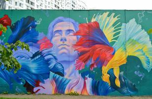 Стрит-арт фестиваль в Одинцово