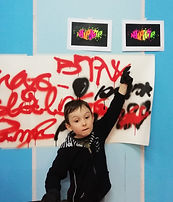 Начинающий граффити райтер