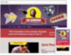 Bowling web design