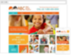 daycare web design