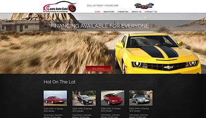 Car DealerShip web design