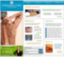 Massage web design