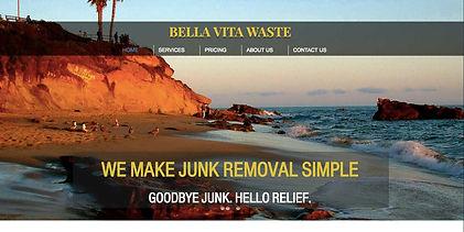 junk hauling web design