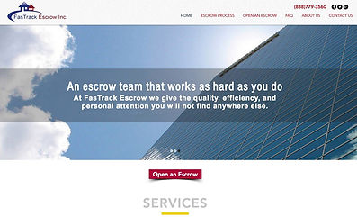 Escrow Website Design