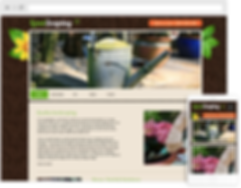 Landscaping Web Design