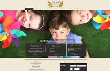 Child Care web design