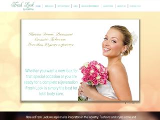 How to create a Makeup website design