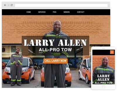 Auto Website Design