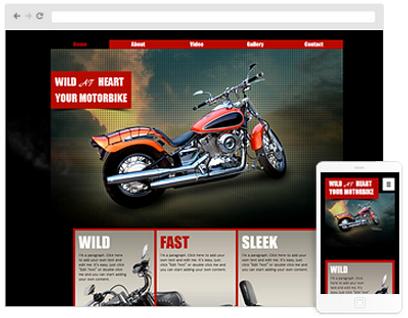 car club Web Design