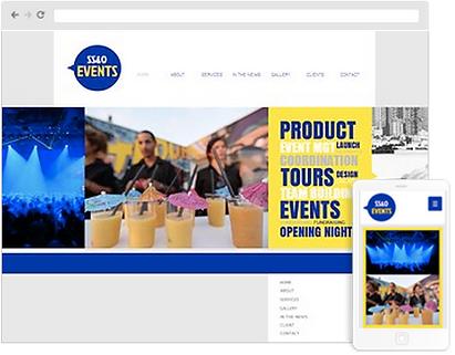 promotional web design