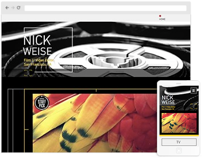 Movie web design