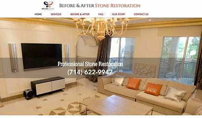 Stone restoration Website Design