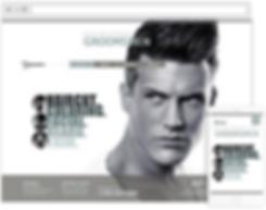 salon web design