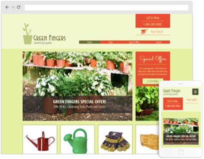 Landscaping Website Design